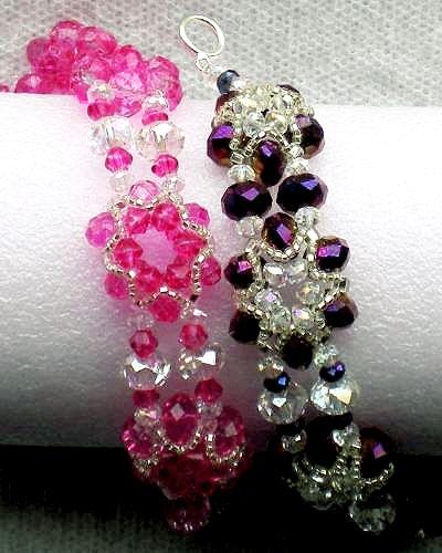Silver Star Bracelet Pattern by Lynn | Jewelry Fun ...