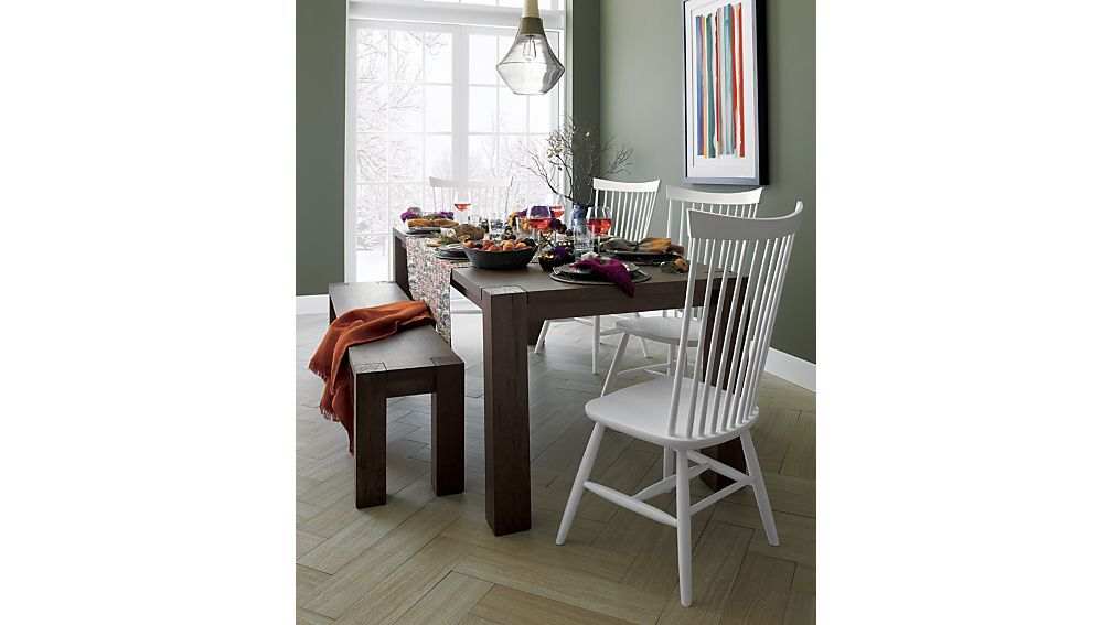 Good Big Sur Charcoal Dining Tables | Crate And Barrel