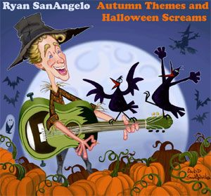 Ryan SanAngelo - AUTUMN THEMES AND HALLOWEEN SCREAMS (Album Review)