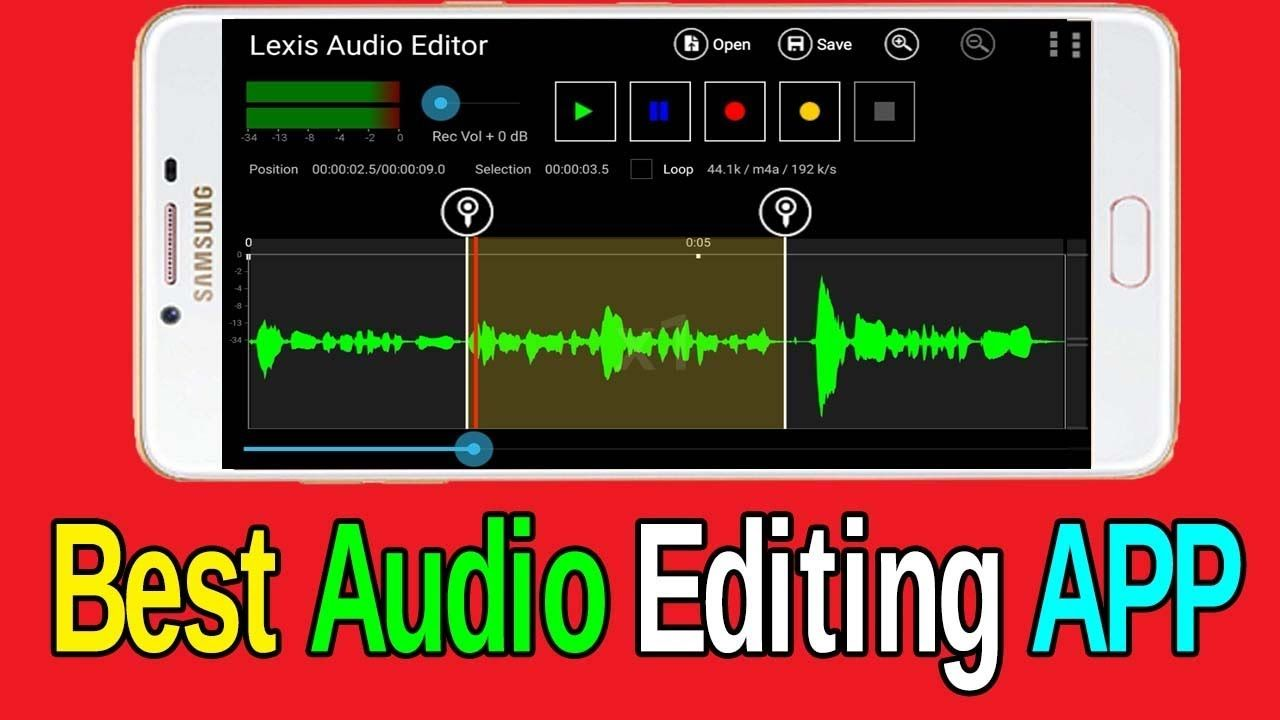 Best Audio Editor App For Android Devices Edit Audio Using Your Mobile Phone Telugu Tech Trends Audio Tech Trends Mobile Phone