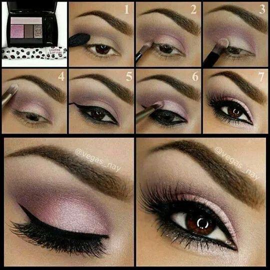 Pinky makeup