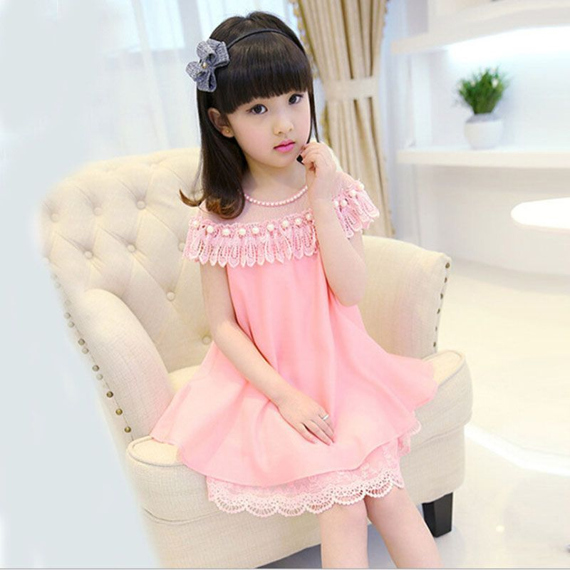 Chiffon Pearl Lace Dresses //Price: $17.08 & FREE Shipping ...
