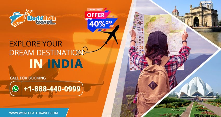 Take advantage of visit your dream #destinationsinIndia and Discover the #bestdealstoindia and enjoy great #discounts on #airtickets! Find destination of your dreams where you want to visit within your budget.  Call: +1-888-440-0999  #traveltoindia #discountedflighttickets #cheapflightstoindia #usatoindiaflights #cheapflightbooking
