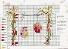 Lovely heart things: Cross Stitch: Funny collection of Easter rabbits