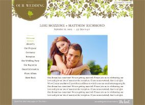 Free Wedding Website Builder With Your Design Choice Theknot Goal To Finish In March