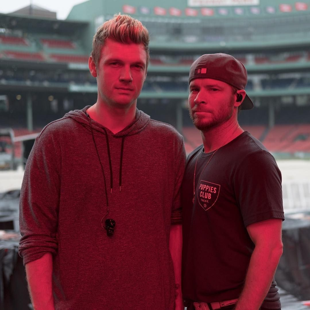 19 2 Mil Curtidas 380 Comentarios Backstreetboys No Instagram Game Faces On For Tomorrow In Minneapolis Fric Nick Carter Brian Littrell Backstreet Boys