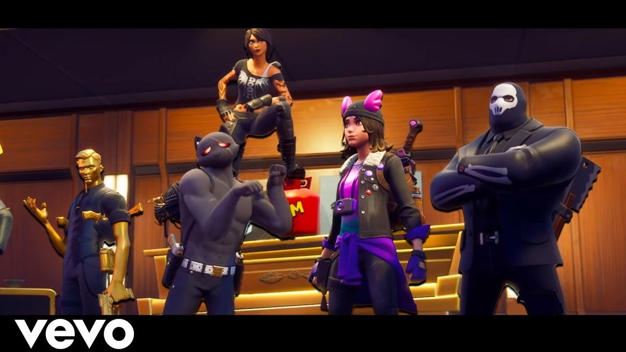 Fortnite Bosses Pretending Official Music Video Youtube Youtube Videos Music Fortnite Music Videos