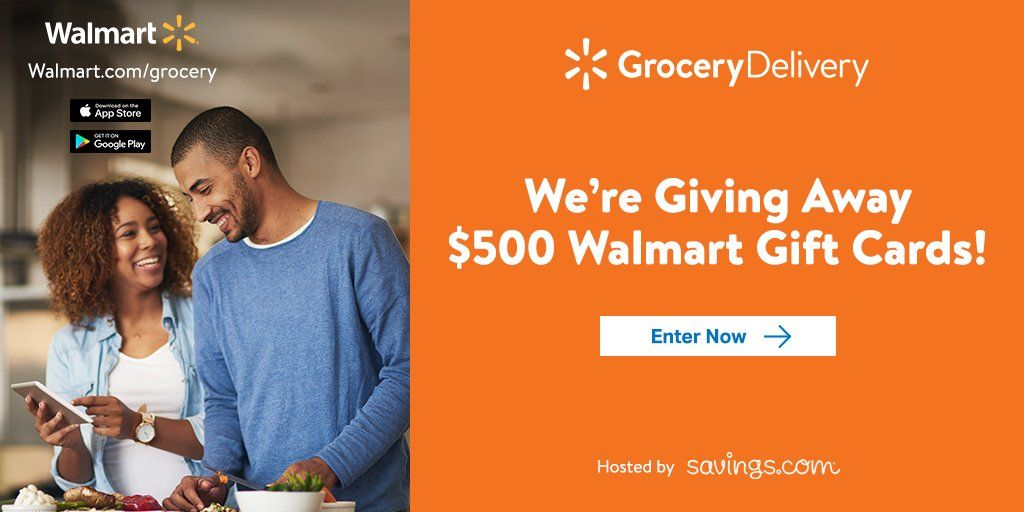Closed* $500 Walmart Giveaway plus first 3 Walmart Grocery