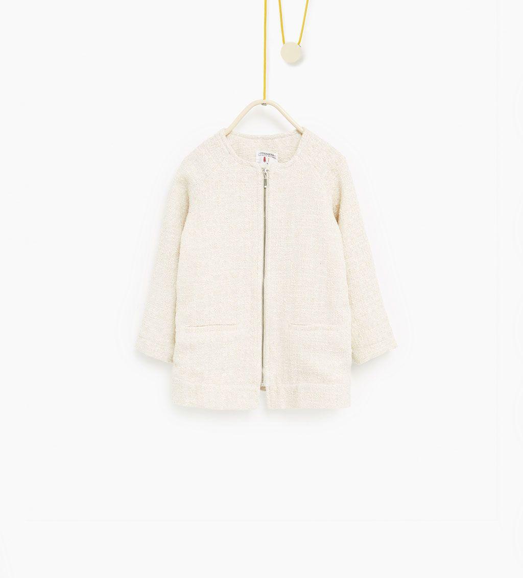 veste brillante afficher tout manteaux fille enfants 4 14 ans enfants zara kiddies. Black Bedroom Furniture Sets. Home Design Ideas