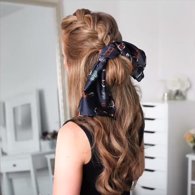 Braided Hairstyle for Long Hair -   24 hairstyles Videos women ideas