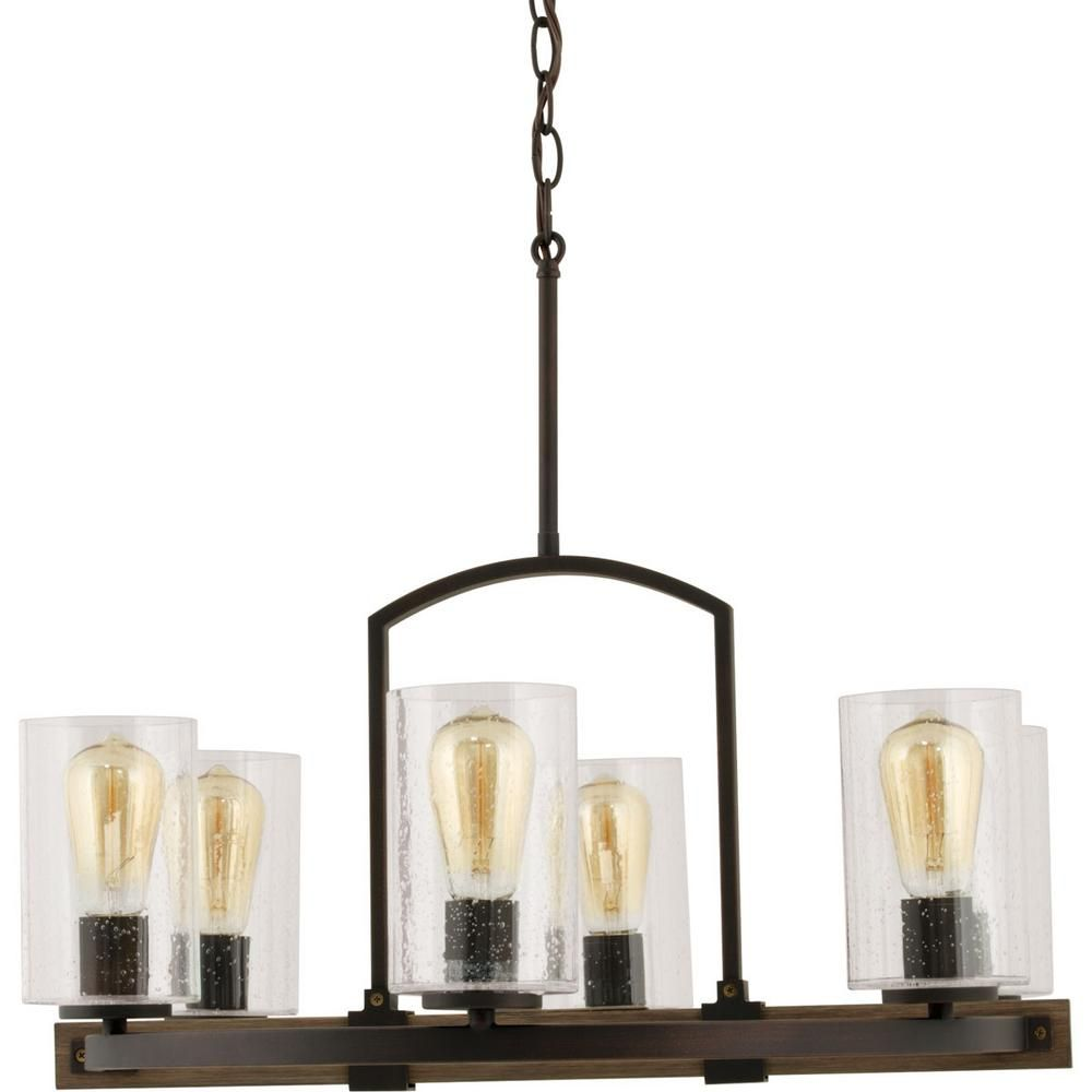 Home decorators collection newbury manor collection 6 light vintage home decorators collection newbury manor collection 6 light vintage bronze chandelier with clear seeded glass shades 7924hdc the home depot arubaitofo Images
