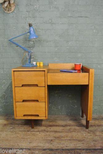 vintage retro mid century john and sylvia reid c range stag desk