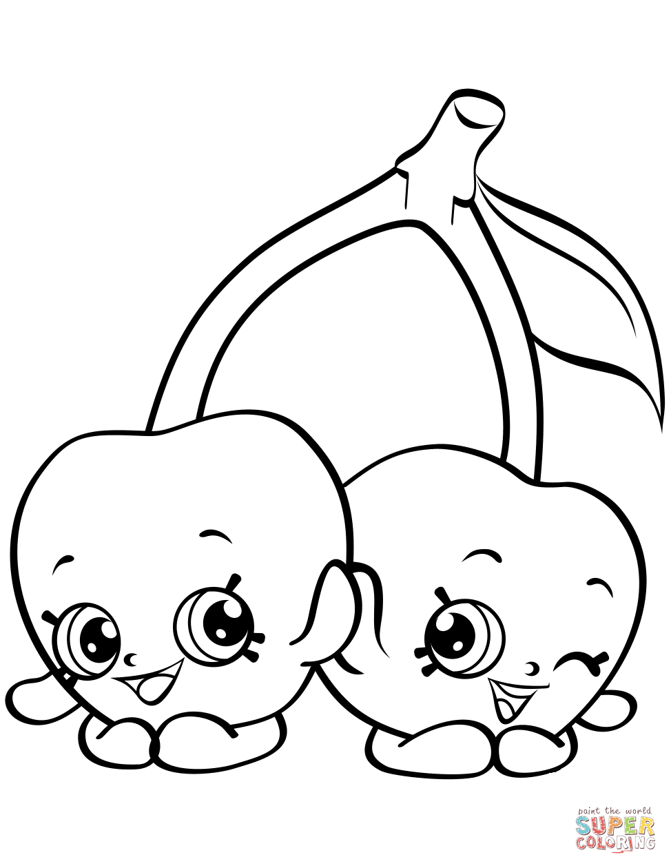 Shocking image intended for shopkin coloring pages printable