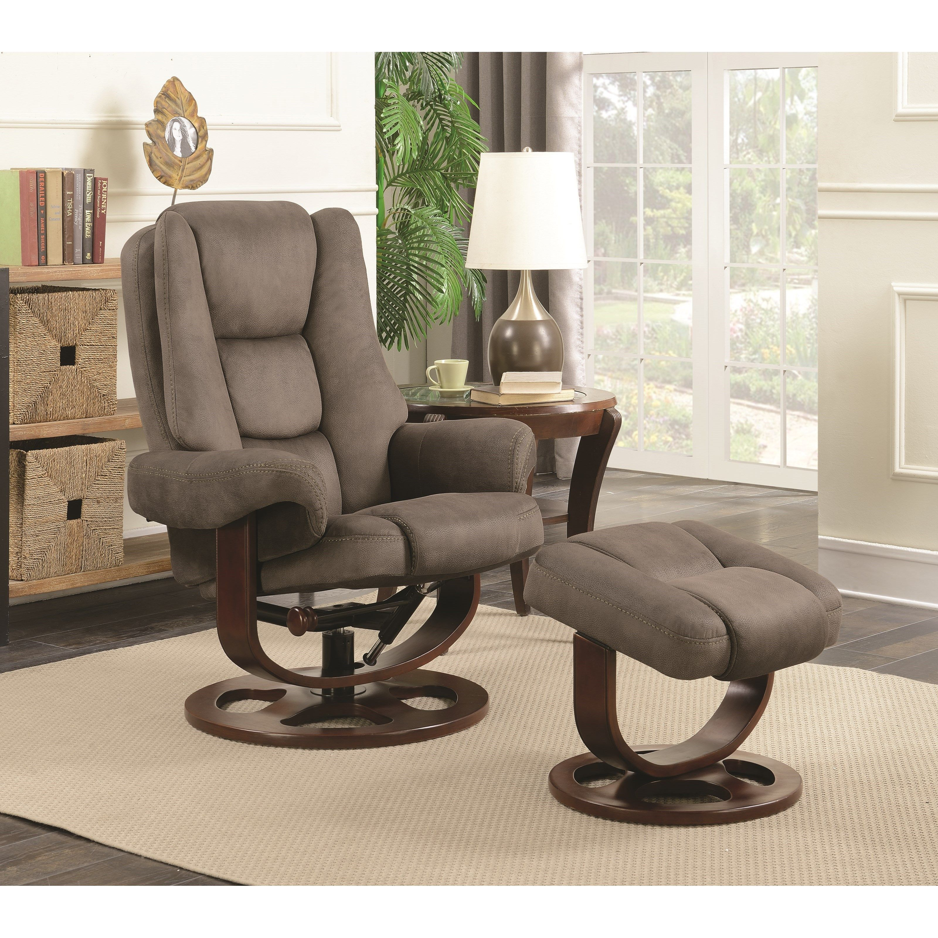 Coaster Recliners with Ottomans Reclining Chair With
