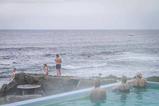 Norðurfjörður and the Pool at Krossnelaug | For 91 Days in Iceland Travel Blog
