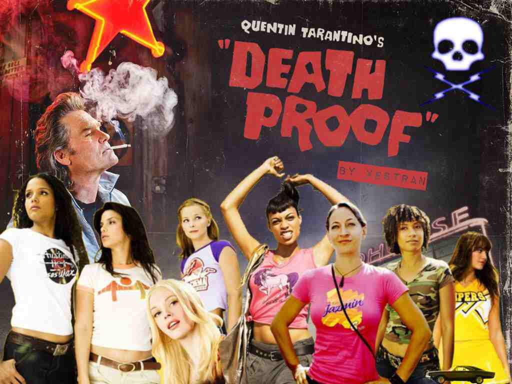 Quentin Tarantino always has kick ass leading ladies the total crush on the Deathproof girls!