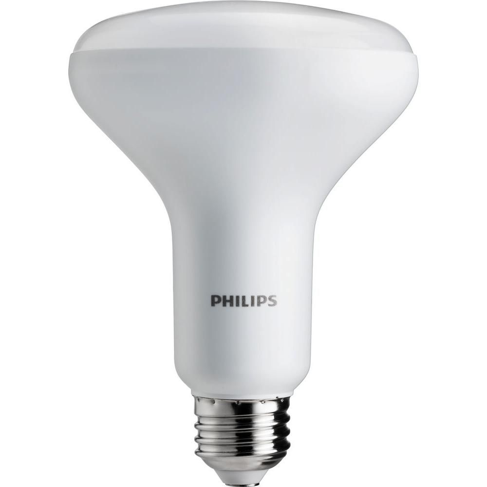 Philips 65w Equivalent Soft White Cri90 Br30 Dimmable Led Light