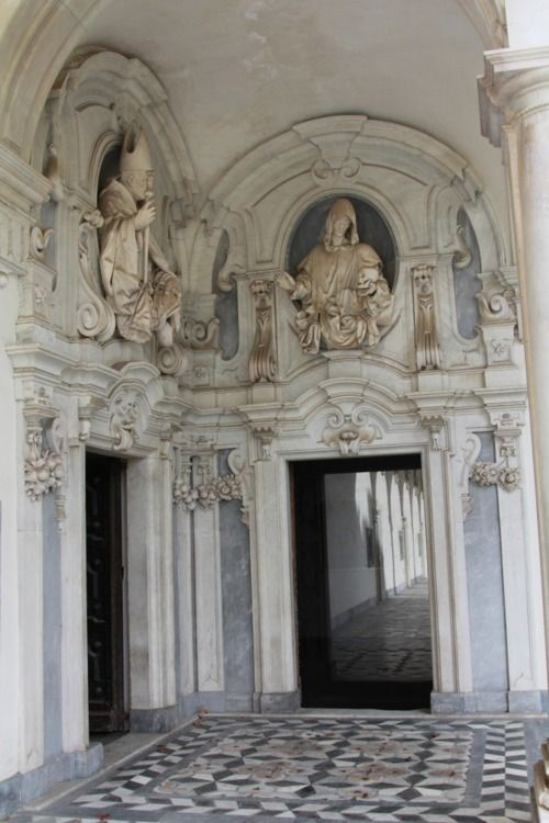Certosa Di San Martino Naples Italy A Former Monastery That Has Been Converted Into A Museum Of The Carthusi Naples Italy Italy Travel Baroque Architecture