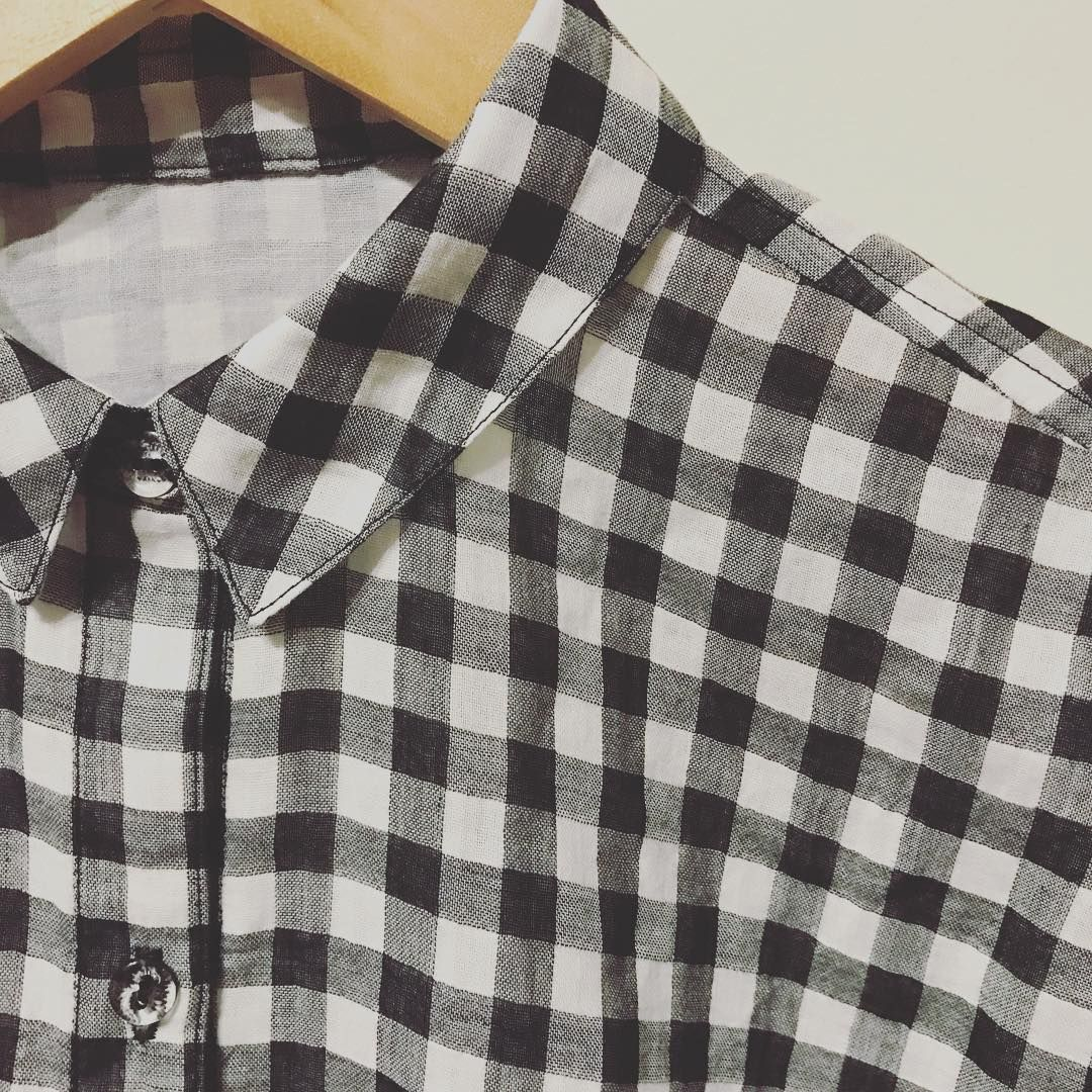 Hello #sablaireshirt – I think we are going to be friends. #neverenoughgingham #stylearc #isew