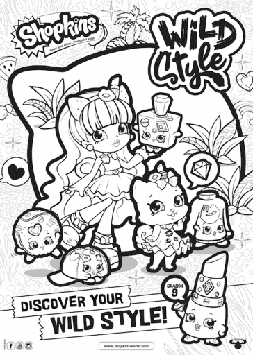 Shopkinsworld Shopkins Coloring Pages In 2020 Shopkins Colouring Pages Birthday Coloring Pages Cute Coloring Pages