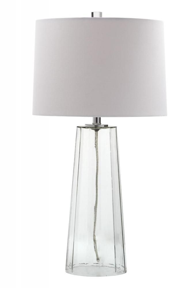 One Light Clear Glass Table Lamp : 140021 | Mariana Home
