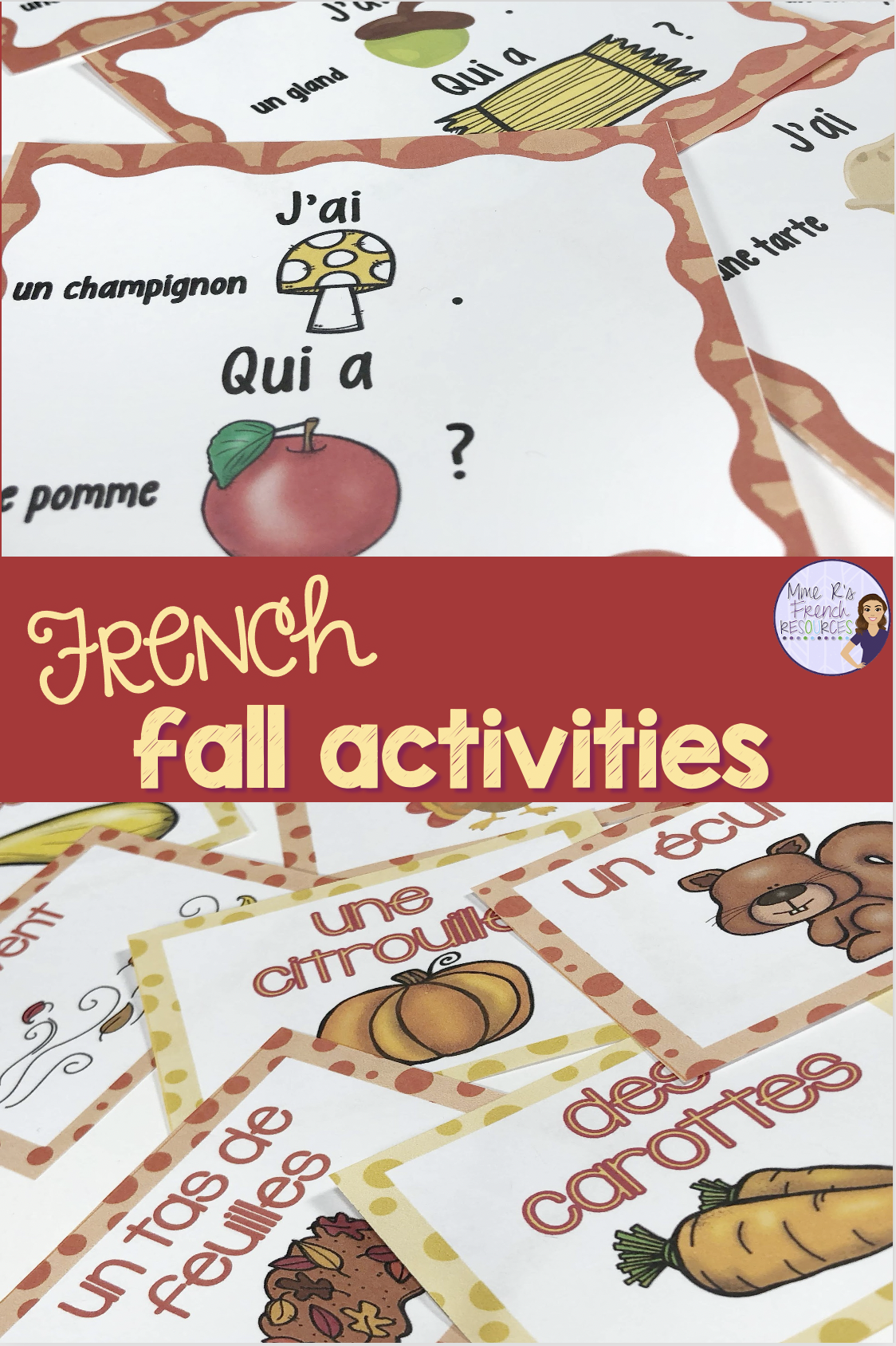 French Fall Teaching Resources In