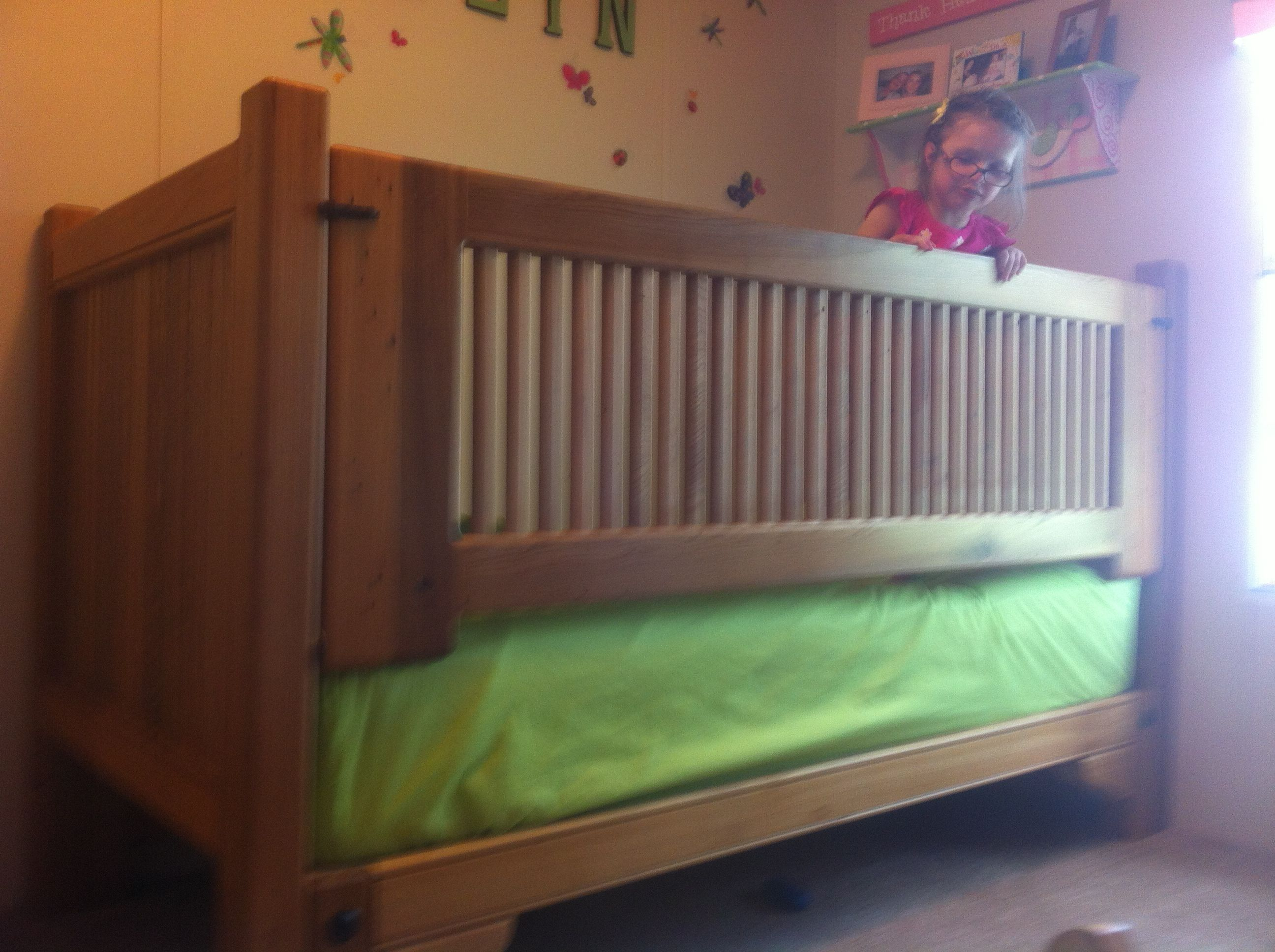 Old Cypress Twin Bed For Special Needs Child Safety Bed