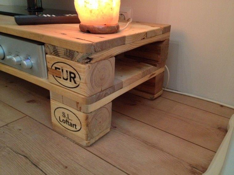 Muebles de palets buscar con google muebles con pallets pinterest muebles hechos con - Mueble salon palets ...