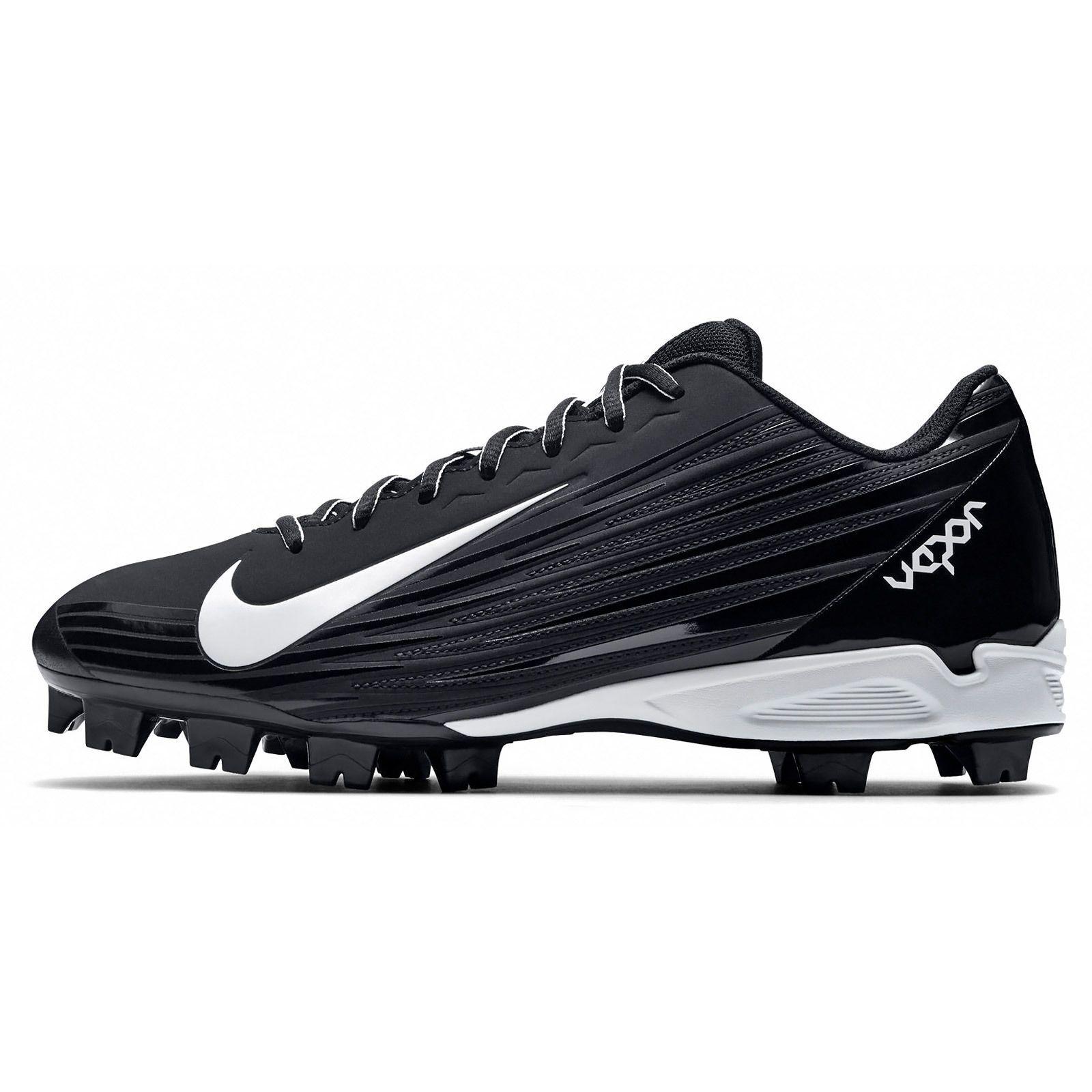 New Nike Vapor Strike 2 MCS Mens Low Baseball Cleats Molded Plastic : Black