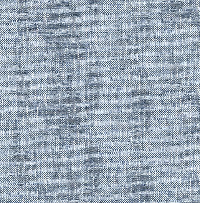Nuwallpaper Nu2918 Navy Poplin Texture Peel Stick Wallpaper Amazon Com Nuwallpaper Peel And Stick Wallpaper Removable Wallpaper