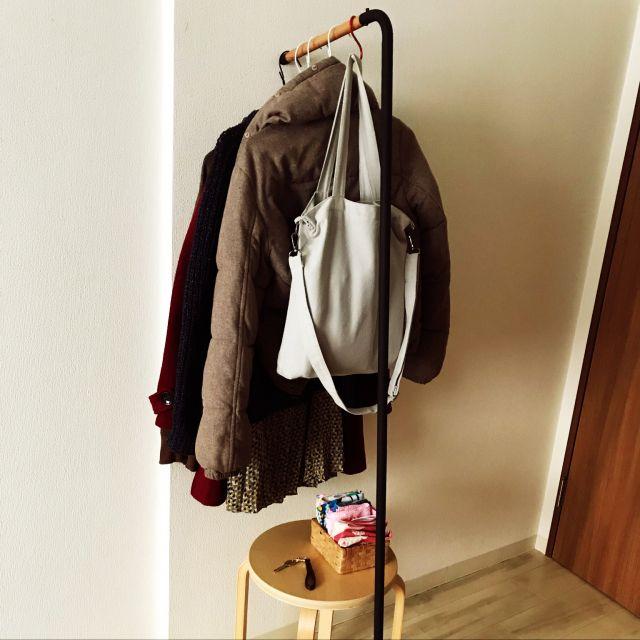 Photo of 「25m2。制限があっても工夫で魅力的に。IKEAラブ♡1Kルーム」 by mizeroさん