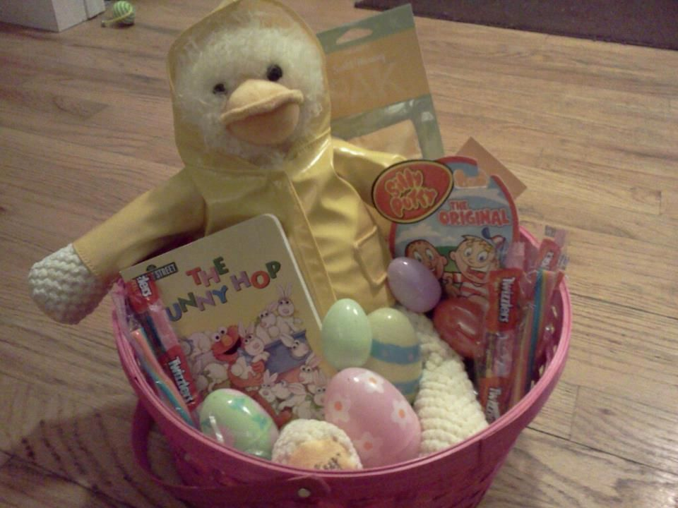 Scentsy buddies are the perfect addition to easter baskets o wellington the duck from scentsy in a easter basket negle Choice Image