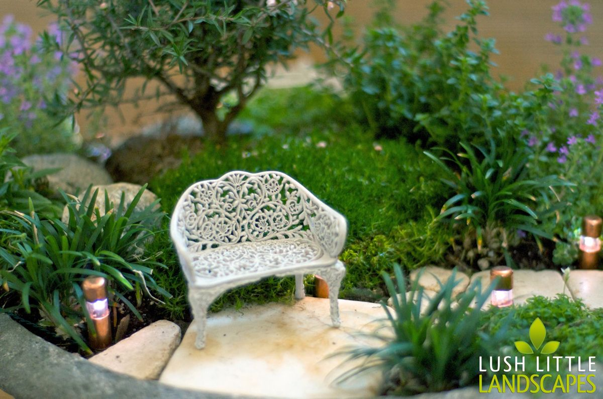 Lush Little Landscapes miniature gardens - gorgeous detail and real ...