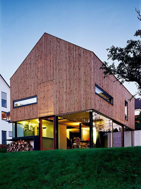 Gläserne Schiebetüren zum Garten Architektur Ferienhaus - haus und garten zeitschrift