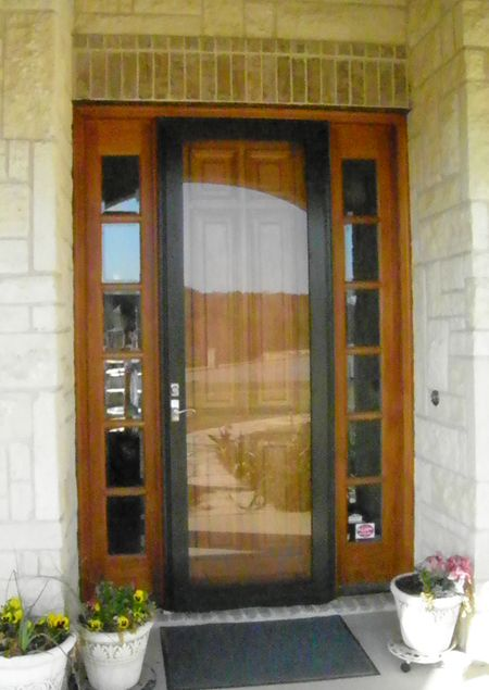 Full View Glass Eight Foot Storm Door for applications in Plano Dallas Frisco McKinney The Colony and most North Texas locations. & Full View Glass Eight Foot Storm Door for applications in Plano ...