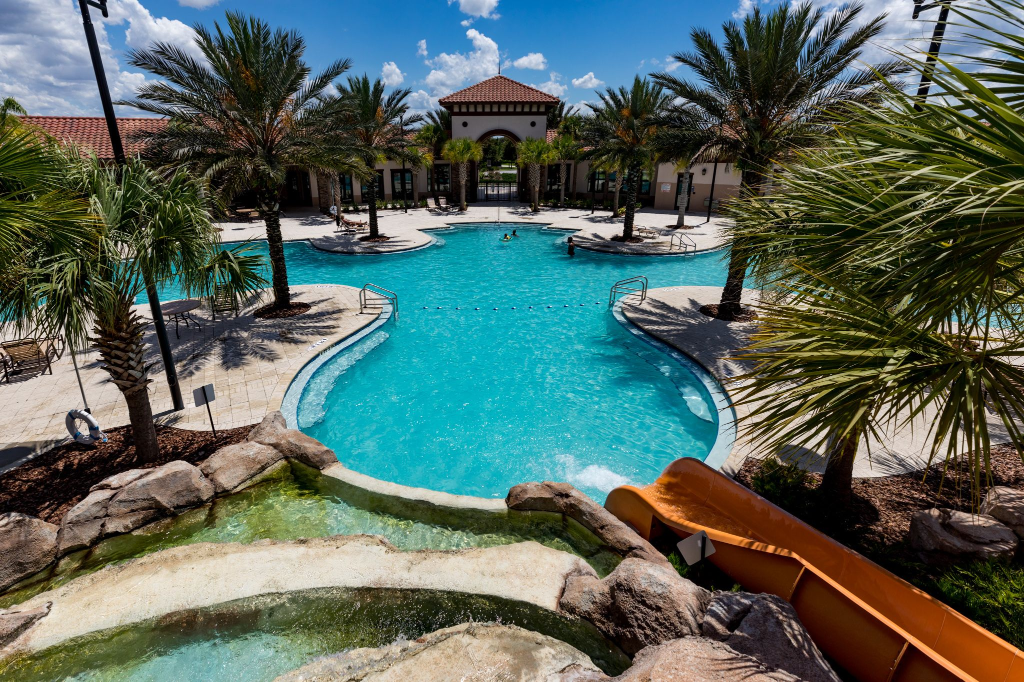 Community pool and club house at solterra resort nr