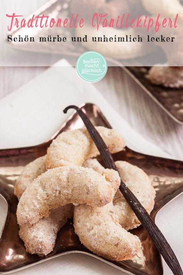 Das beste Vanillekipferl Rezept | Backen macht glücklich #vanillekipferlrezept