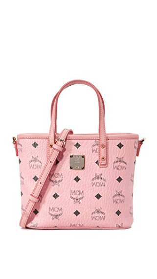 Umhängetasche Top Zip Shopper Anya Mini Soft Pink Maße: 20 x