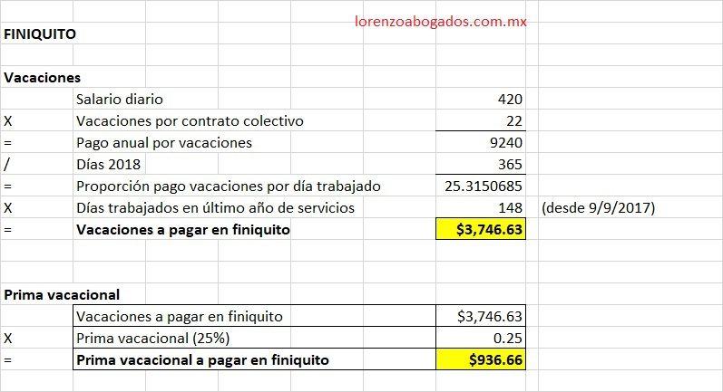 Finiquito Y Liquidación 2 8 Finanzas Liquidacion Contabilidad