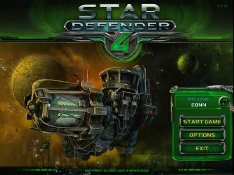 Star Defender 4 (Mission 1, level 1-5) WalkThrough Part 1