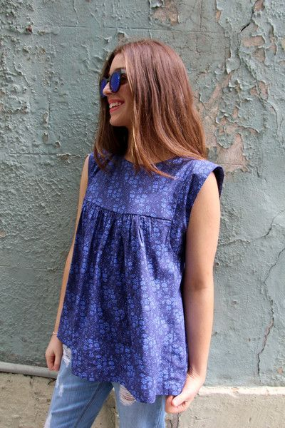 Alice Dress / Top Pattern - Patterns - Tessuti Fabrics - Online ...