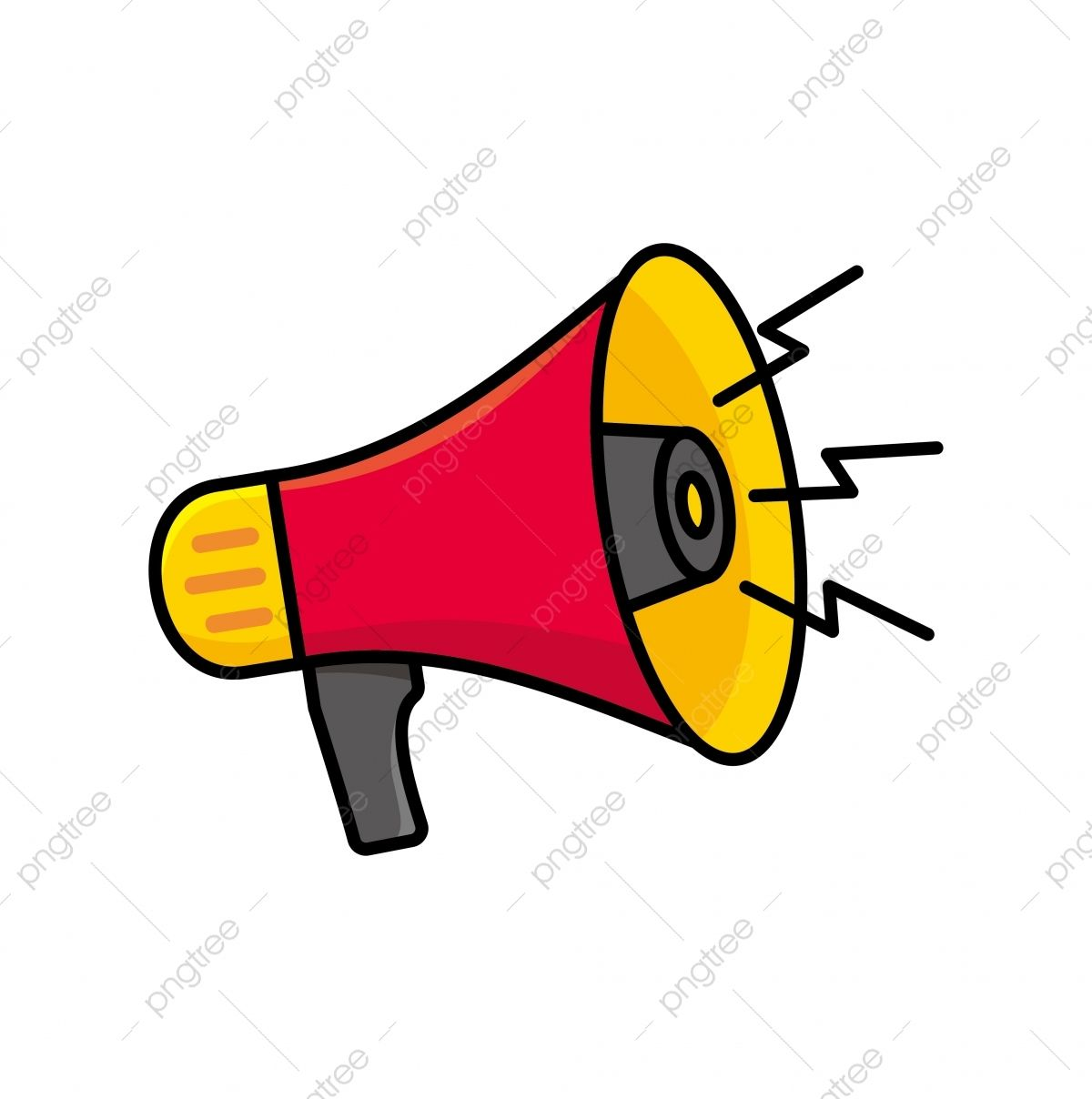 Megaphone Clipart Clip Art Vector Illustration Cartoon Clip Art