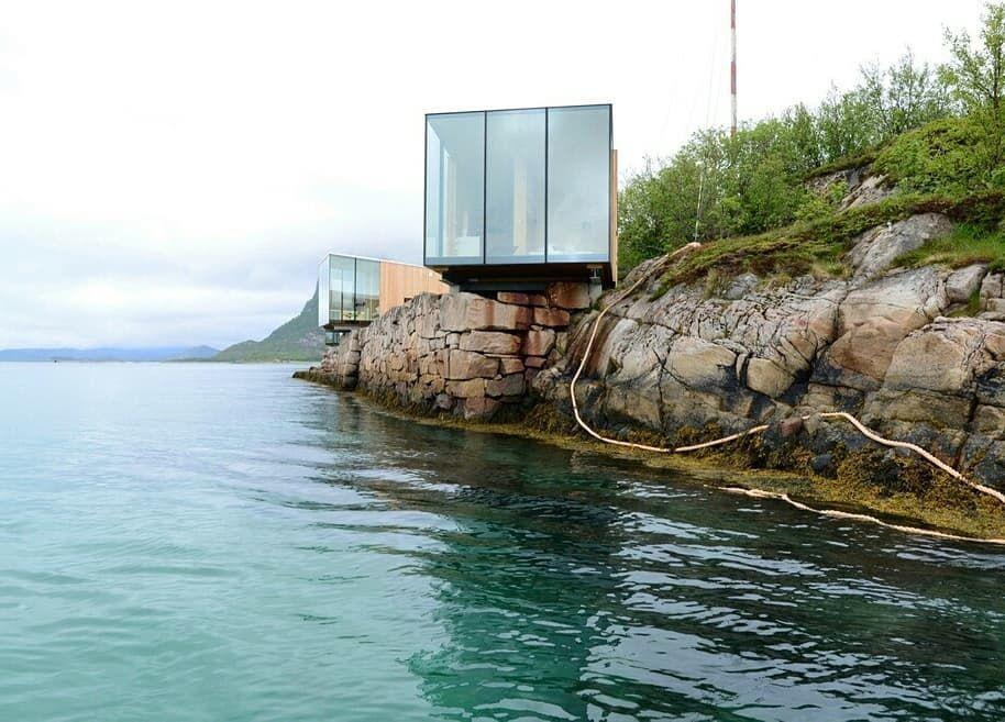 Desenho Arquitetônico As cabines foram projetadas para oferecer aos seus hóspedes abrigo e co Desenho Arquitetônico As cabines foram projetadas para of...