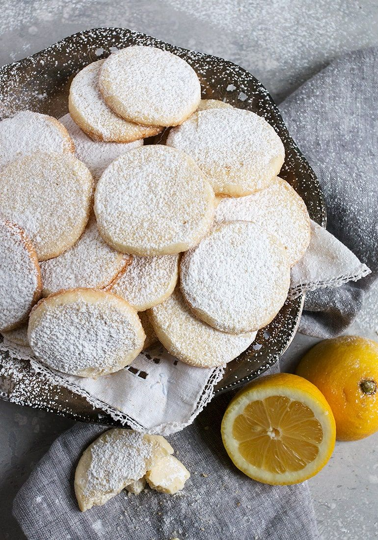 Lemon Meltaways #sliceandbakecookieschristmas