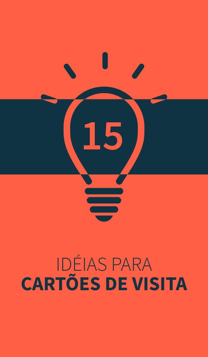 Idéias legais para cartões de visitas Criativos.
