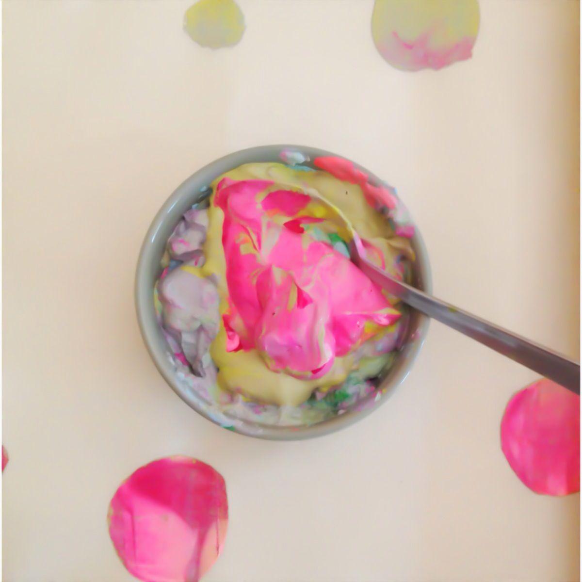 Screen printing mess - Gemma Patford
