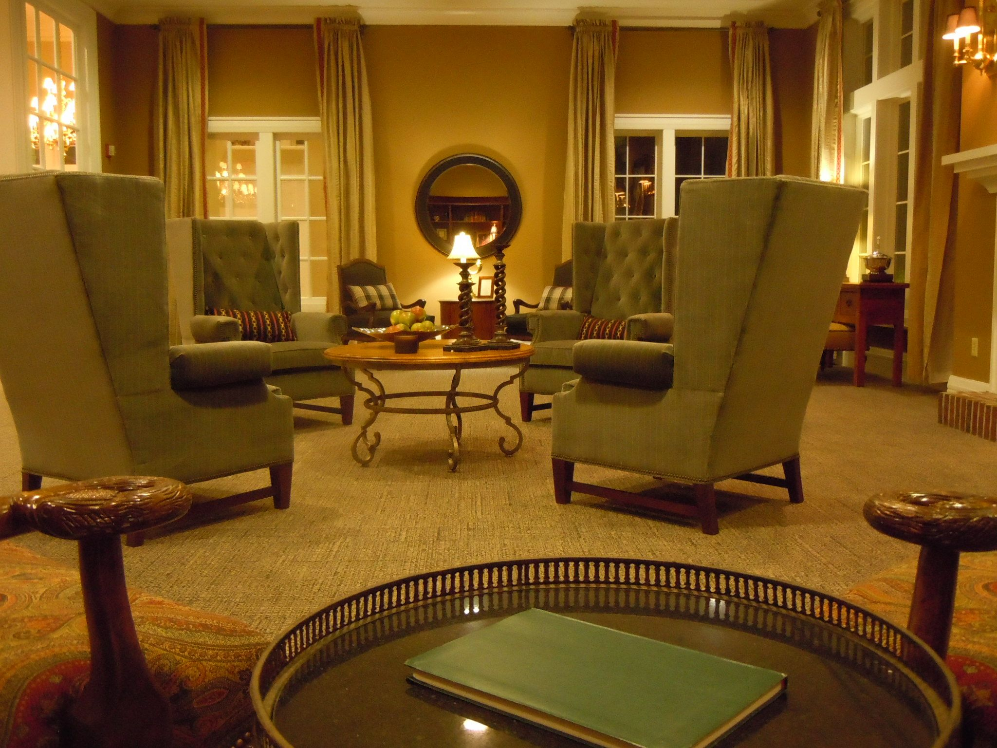 THE NEW PARLOR AT THE COUNTRY CLUB OF INDIANAPOLIS   Interior ...