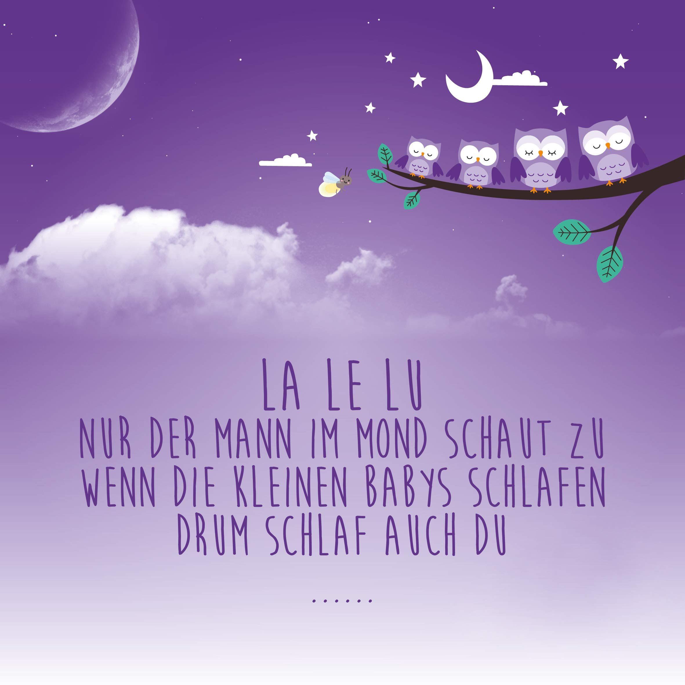 La Le Lu  ein Gute-Nacht-Zitat zum Vorsingen | Baby