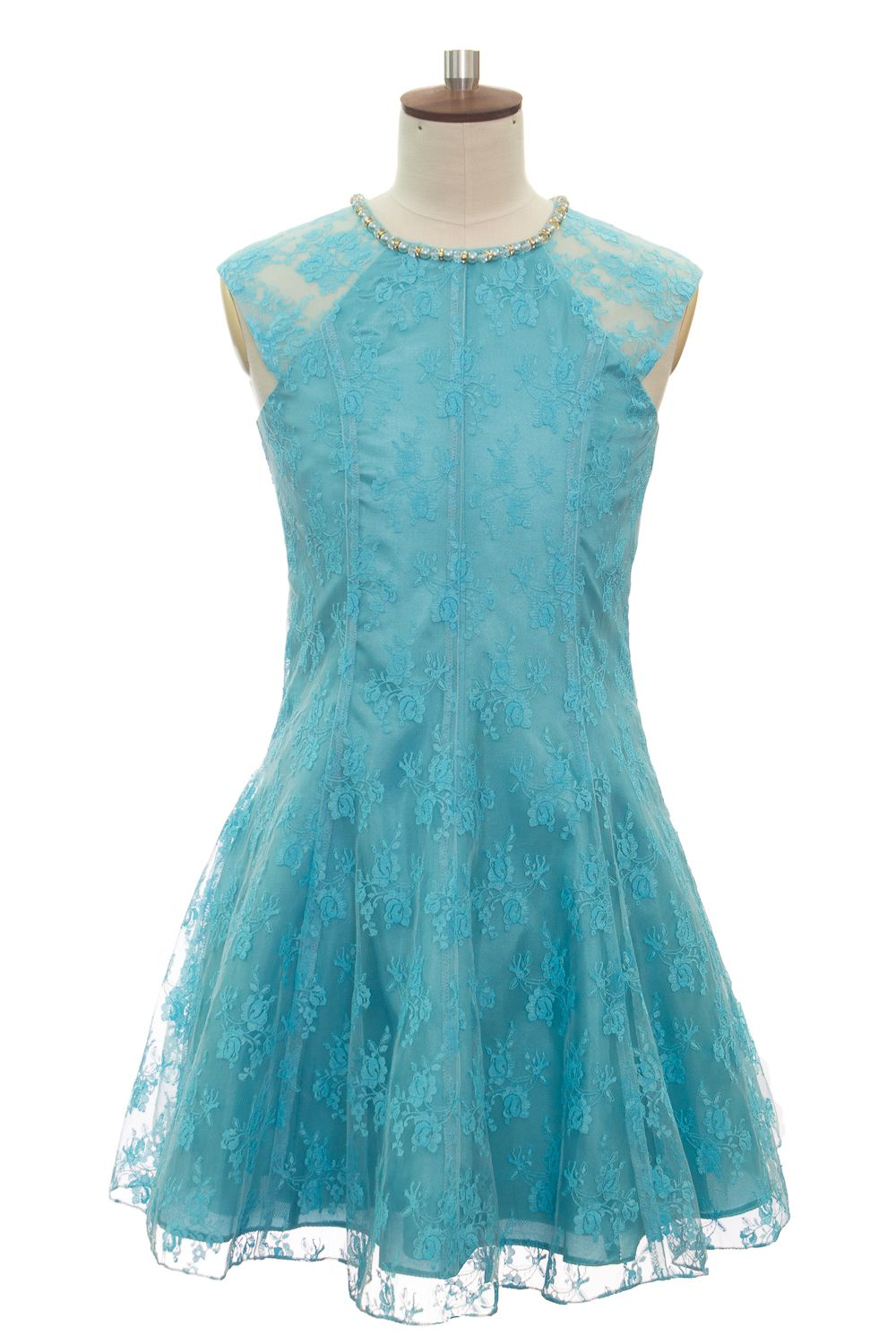 TURQUOISE LACE SUMMER PARTY DRESS | Baby girl dresses | Pinterest