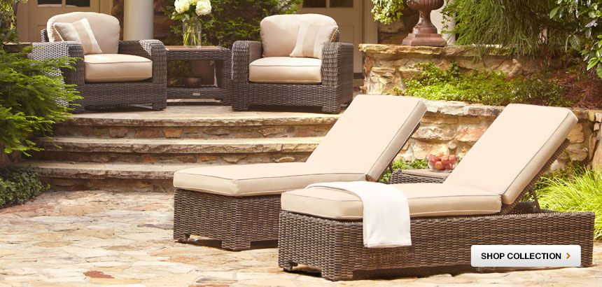 Northshore Chaises From Brown Jordan Available At The Home Depot